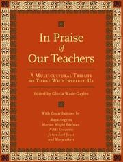 Cover of: In Praise of Our Teachers