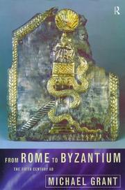 Cover of: From Rome to Byzantium