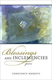 Cover of: Blessings and Inclemencies | Constance Merritt