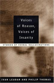 Cover of: Voices of Reason, Voices of Insanity