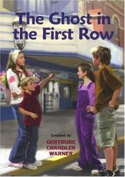 Cover of: The Ghost in the First Row