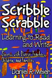 Cover of: Scribble Scrabble--Learning to Read and Write