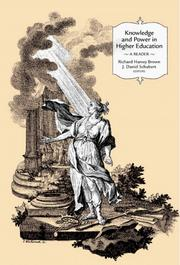 Cover of: Knowledge and Power in Higher Education |
