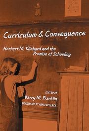 Cover of: Curriculum & consequence