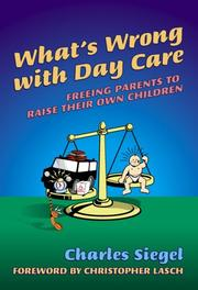 Cover of: What's Wrong With Day Care