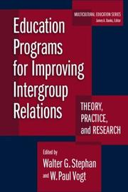 Cover of: Education Programs for Improving Intergroup Relations |