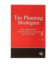 Top federal tax issues for 2012 2011 edition open library tax planning strategies fandeluxe Images