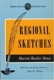 Cover of: Regional Sketches