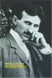 Cover of: On Electricity