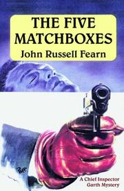 Cover of: The Five Matchboxes | John Fearn