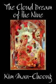 Cover of: The Cloud Dream of the Nine | Kim Man-Choong