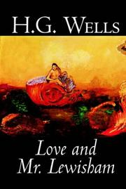 Cover of: Love and Mr. Lewisham | H. G. Wells