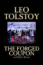 Cover of: The Forged Coupon and Other Stories | Tolstoy