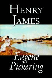 Cover of: Eugene Pickering | Henry James Jr.