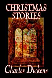Cover of: Christmas Stories | Charles Dickens