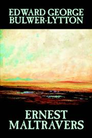 Cover of: Ernest Maltravers