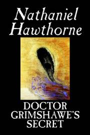 Cover of: Doctor Grimshawe