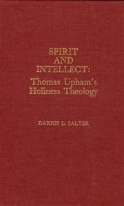 Cover of: Spirit and intellect