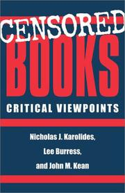 Cover of: Censored books