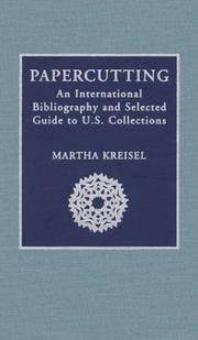 Cover of: Papercutting