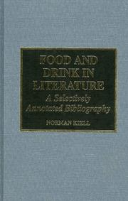 Cover of: Food and drink in literature