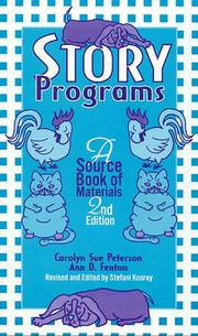 Cover of: Story programs