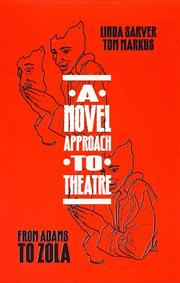 Cover of: A novel approach to theatre