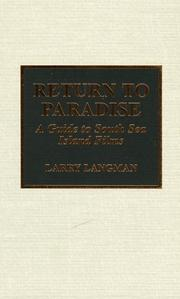 Cover of: Return to paradise