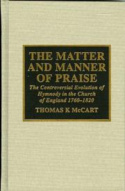 The matter and manner of praise