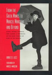 Cover of: From the Greek mimes to Marcel Marceau and beyond
