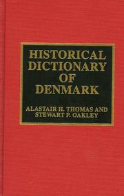 Historical dictionary of Denmark