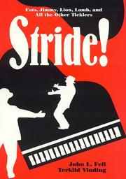 Cover of: Stride!