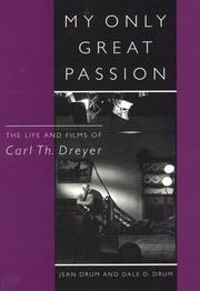 Cover of: My only great passion