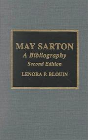 Cover of: May Sarton
