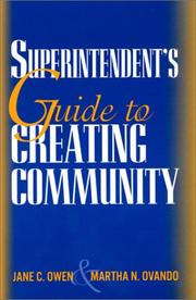 Cover of: A Superintendent