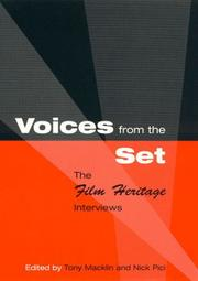 Cover of: Voices from the set | F. Anthony Macklin