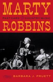 Cover of: Marty Robbins | Pruett Barbara