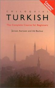 Cover of: Colloquial Turkish Pack