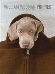 Cover of: William Wegman Puppies 2004 Desk Calendar