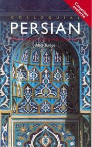 Cover of: Colloquial Persian The Complete Course for Beginners (With cassette) (Colloquial Series (Multimedia))
