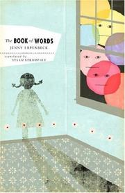 Cover of: The Book of Words