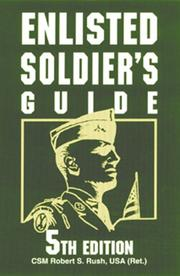 Cover of: Enlisted Soldier
