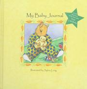 Cover of: My Baby Journal