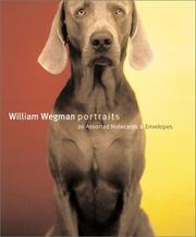 Cover of: Wegman Portraits