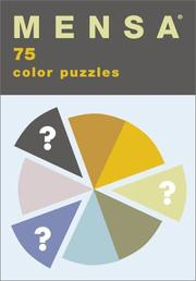 Mensa Color Puzzles