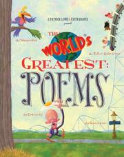Cover of: World's Greatest, The: Poems: The Talkingest Bird, the Tallest Roller Coaster, and 23 other 'est's