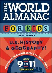 Cover of: The World Almanac Puzzler Deck For Kids: History: Ages 9-11: United States History and Geography: Ages 9-11, Grades 4-5 (World Almanac)
