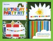 Cover of: Eric Carle