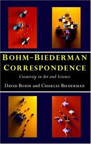 Cover of: Bohm-Biederman Correspondence