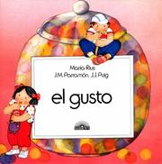Cover of: El gusto